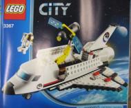 INS3367-G 3367 BOUWBESCHRIJVING- Space Shuttle gebruikt *LOC BE