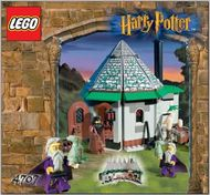 INS4707-G 4707 BOUWBESCHRIJVING- Harry Potter- Hagriods Hut gebruikt *