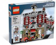 Set 10197-GB Fire Brigade gebruikt deels gebouwd *B036
