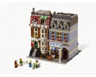 Set 10218-GB Pet Shop gebruikt deels gebouwd *B036