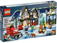 Set 10222 - Holiday: Winter Village Post Office- gebruikt