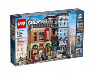 Set 10246-GB Detective's Office gebruikt deels gebouwd *B036