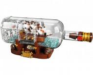 Set 21313-GB Schip in een fles gebruikt deels gebouwd *B036