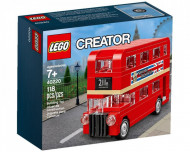 Set 40220-GB Mini London Bus gebruikt deels gebouwd *B036