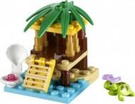 Set 41019-G - Friends: Turtles's Little Oasis D/H/97%- gebruikt