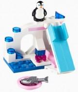 Set 41043-G - Friends: Penguin's Playground D/H/97%- gebruikt