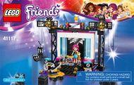 Set 41118 BOUWBESCHRIJVING-  Pop Star TV Studio Friends NIEUW loc