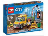 Set 60059 - Town: Service Truck met toilet- Nieuw