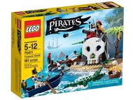 Set 70411 - Pirates: Treasure Island- Nieuw