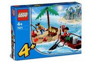 Set 7071 Pirates Treasure Island-Nieuw