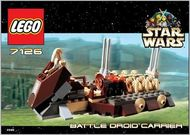 Set 7126 - Star Wars: Battle Droids Carrier- Nieuw