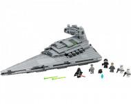 Set 75055-GB Imperial Star Destroyer gebruikt deels gebouwd *B036