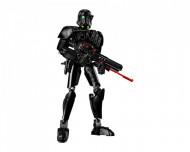 Set 75121-GB Imperial Death Trooper gebruikt deels gebouwd *B036