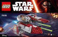 Set 75135 BOUWBESCHRIJVING-  SW:  Resistance Trooper Battle Pack Star Wars NIEUW loc