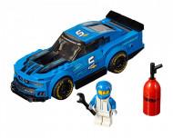 Set 75891-GB Chevrolet Camaro ZL1 Race Car gebruikt deels gebouwd *B036