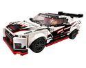 Set 76896-GB Nissan GT-R NISMO gebruikt deels gebouwd *B036