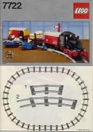 Set 7722 BOUWBESCHRIJVING- Steam Cargo Train Vliegtuigen gebruikt loc