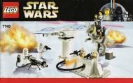 Set 7749 BOUWBESCHRIJVING- Star Wars: Echo Base Star Wars gebruikt loc