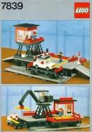 Set 7839 BOUWBESCHRIJVING- Train Station gebruikt loc