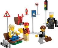 Set 8401-G - City: City Minifigure Collection D/H/C 97-100%- gebruikt