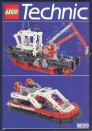 Set 8839 BOUWBESCHRIJVING- Supply Ship gebruikt loc