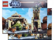 Set 9516 BOUWBESCHRIJVING- Jabba's Palace NIEUW loc