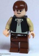 sw179 Star Wars- Han Solo, Light Flesh (UCS Falcon NIEUW *0M0000