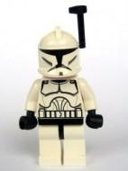 sw200a Star Wars:Clone Trooper Clone wars helmet anetenna NIEUW loc