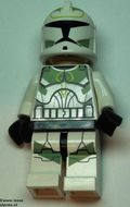 sw298 Star Wars:Clone Trooper met zandgroene markeringen NIEUW loc