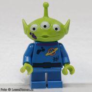 toy014 Alien (Toy Story) paarse moddervlek op wang NIEUW loc