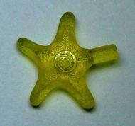 x112-19 Zeester transparant geel NIEUW *0D000