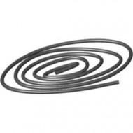 x77ac200-11 Koord, dun, 200 centimeter zwart NIEUW *0W000