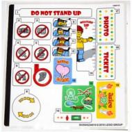 10261stk01 STICKER 10261 Roller Coaster NIEUW *0S0000