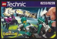 Set 8223 BOUWBESCHRIJVING- Hydrofoil 7 Technic gebruikt loc loc box1