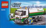 Set 60016 BOUWBESCHRIJVING- Tanker Truck  NIEUW loc