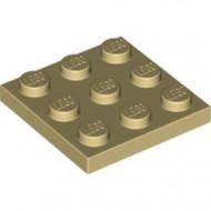 11212-2 Platte plaat 3x3 crème NIEUW *5K0000