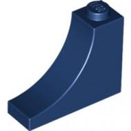 18653-63 Steen,omgekeerde halve boog 1x3x2 blauw, donker NIEUW *