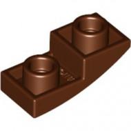 24201-88 Omgekeerde dakpan 2x1 rond bruin, roodachtig NIEUW *1B000