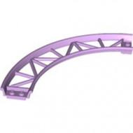 25061-154 Baan rollercoaster 90 graden gebogen lavender NIEUW *