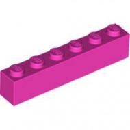 3009-47 Steen 1x6 roze, donker NIEUW *5K0000