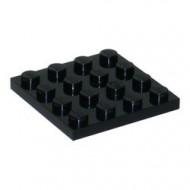 3031-11G Platte plaat 4x4 zwart gebruikt *5K0000
