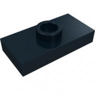 3794-11 Platte plaat 1x2 met 1 nop (loc 01-5) ZIE OOK 15573 zwart NIEUW *1L233/11