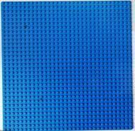 3811-7G Basisplaat 32x32 blauw gebruikt *3K000