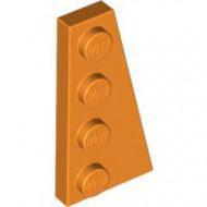 41769-4 Wig plaat 4x2 rechts oranje NIEUW *1L223+4