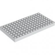 4204-1G Steen 8x16 wit gebruikt *5K0000