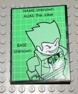 4515pb020-11G Dakpan 10 graden 6x8 Groene Batman two-face Zwart gebruikt loc
