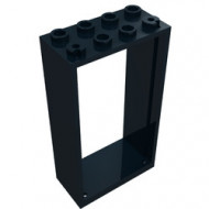 60599-11 Deurpost 2x4x6 zwart NIEUW *3D0000