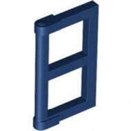 60608-63 Raampaneel 1x2x3 voor ramen 3853- Voor elk raam 2 stuks nodig blauw, donker NIEUW *1L0000