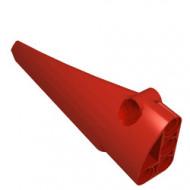 64393-5 Technic, Sierpaneel # 6 GLAD lang Side B rood NIEUW *4T092