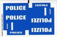 7245stk01 STICKER Prisoner Transport NIEUW *0S0000